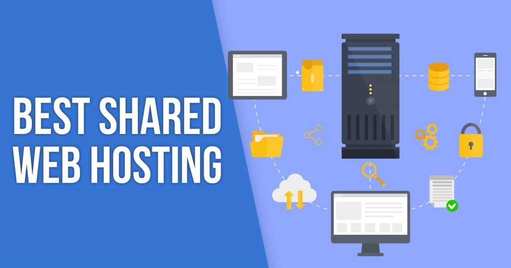 shared web hosting banner